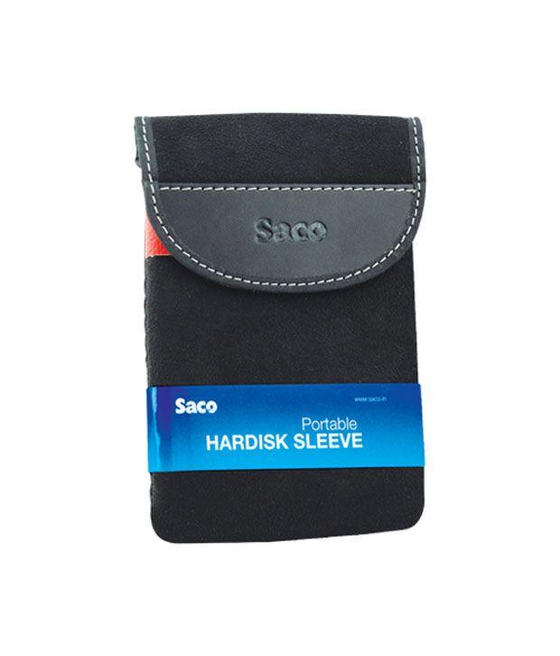 Saco External Hard Disk Sleeve For Seagate Expansion Falcun 1 Tbexternal Hard Disk