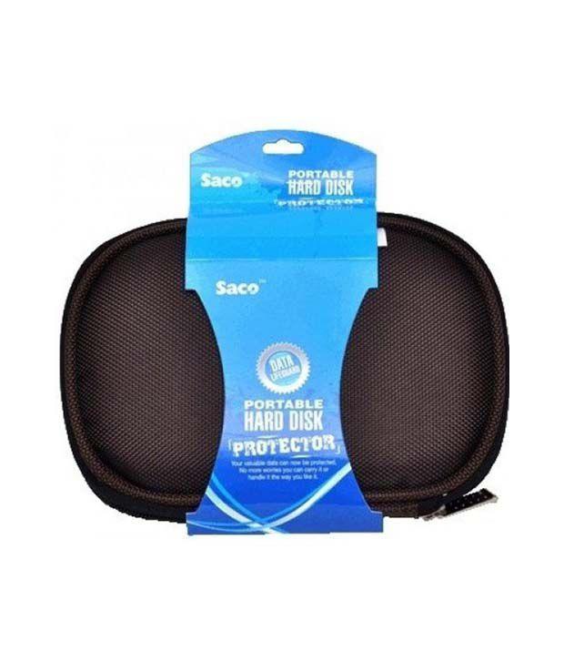 Saco Shock Proof Case External Hard Disk Protector For Adata Dashdrive Hd710 2.5 Inch 1 Tb External Hard Disk