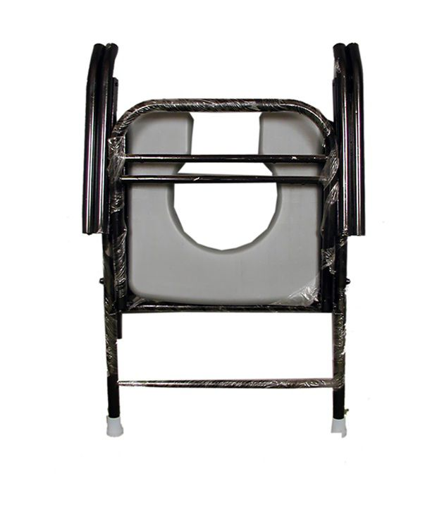Elegant Life Comfort Folding Commode Chair Elegant Life Comfort Folding Commode Chair
