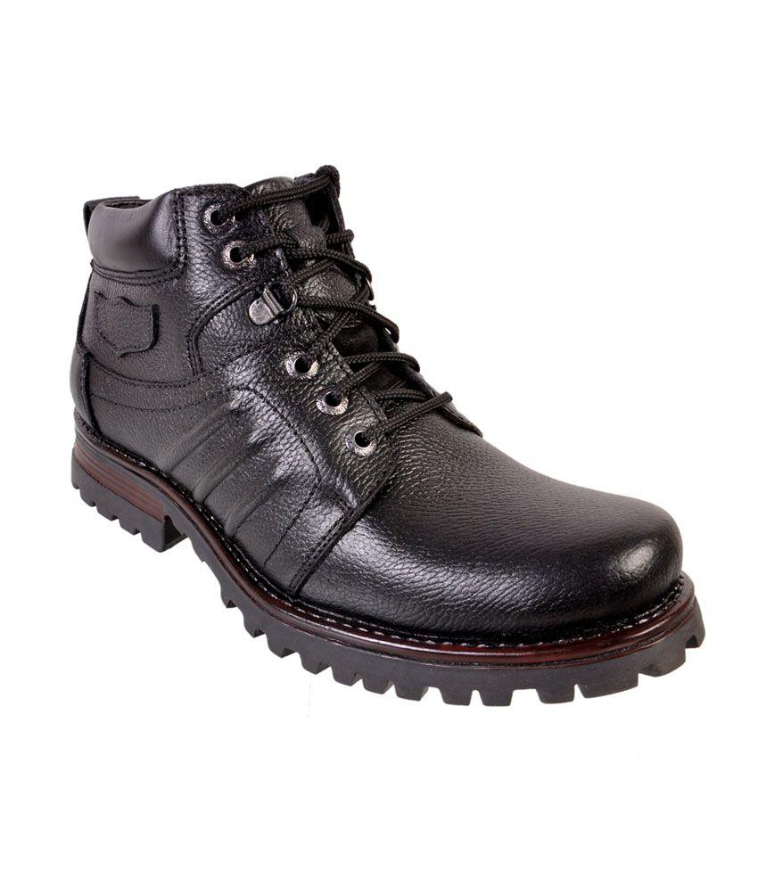 Mahajan's Oxhide Boot Men Casual Shoes