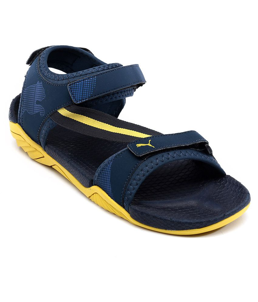 Puma Blue Floater Sandals - Buy Puma Blue Floater Sandals Online at Best  Prices in India on Snapdeal 38a2894bab