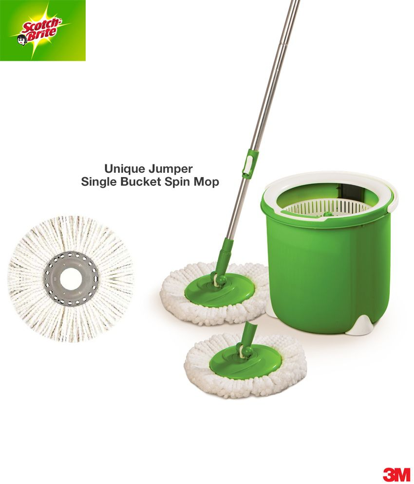 how to use scotch brite mop