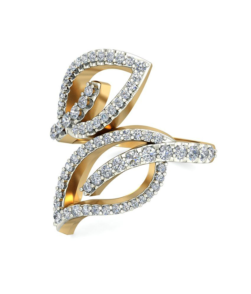 The Venera Diamond Ring WearYourShine by PC Jeweller