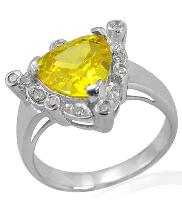 Arsh Crown Sky Dominion 4.26 Ctw Cubic Zirconia 925 Sterling Silver Ring