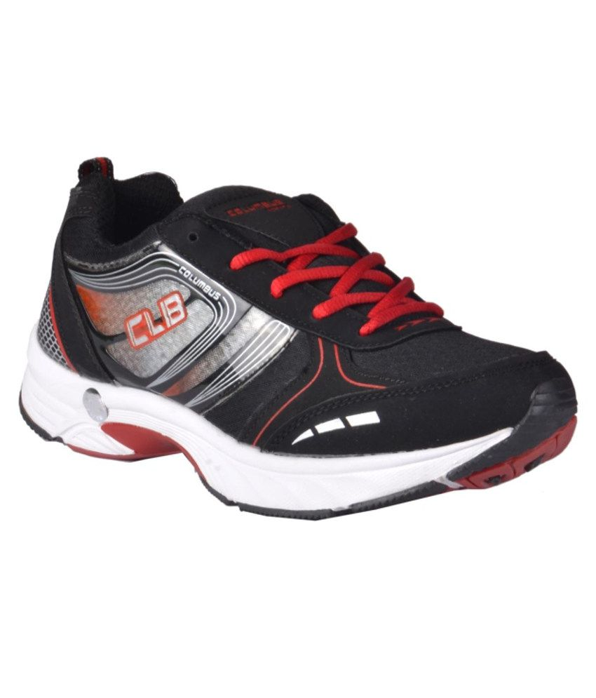 Columbus Black Sport Shoes