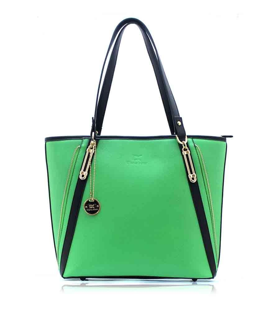 Diana Korr Green Jane Women's Shoulder Bag