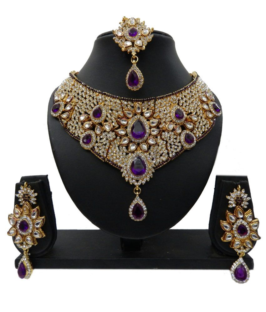 Kc Jewels Traditional Necklace Set