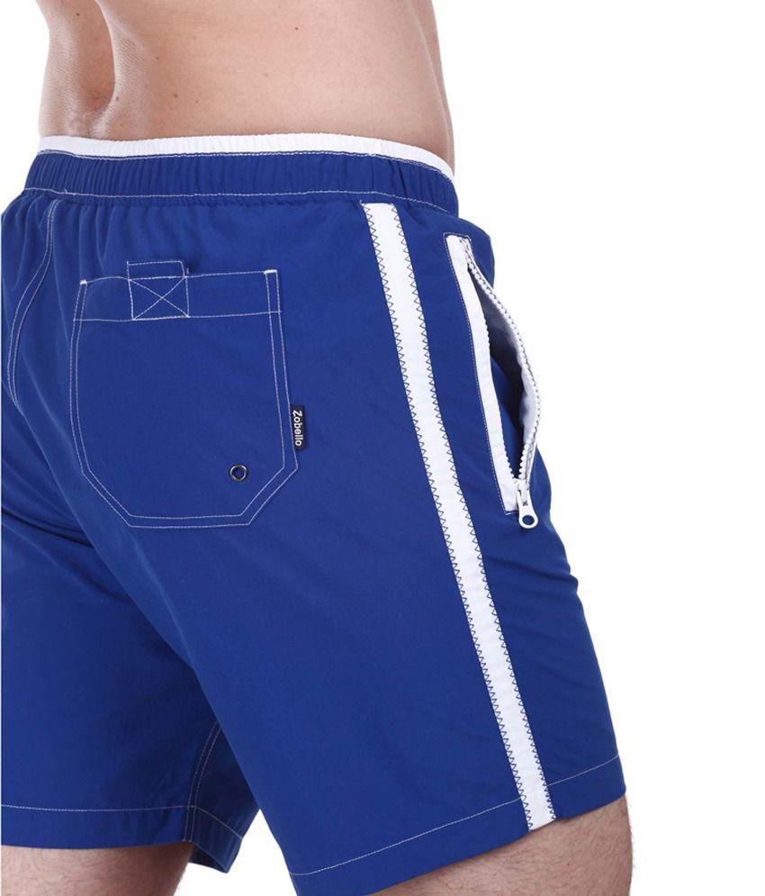 f42c138ffef0d ... Zobello Nylon Quick Dry Swim Shorts With Zipper Pockets/ Swimming  Costume