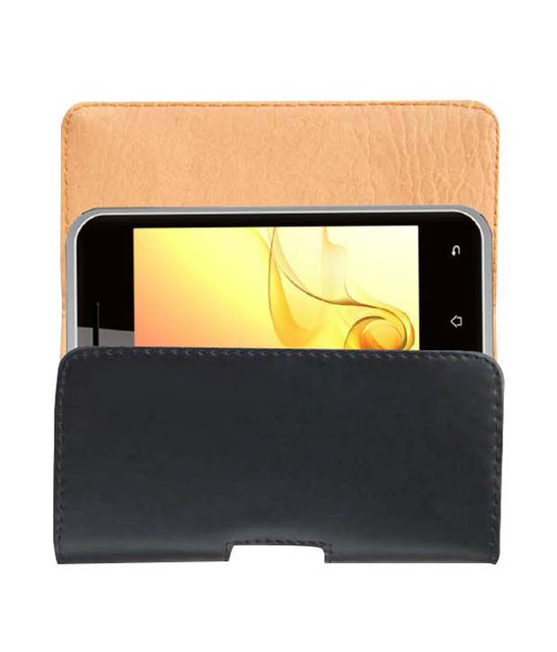 ACM BELT CASE for INTEX CLOUD X2 MOBILE LEATHER CARRY CASE POUCH COVER PROTECTION available at SnapDeal for Rs.389