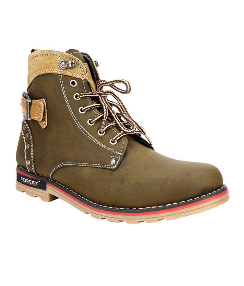 Forest Mid length Boots