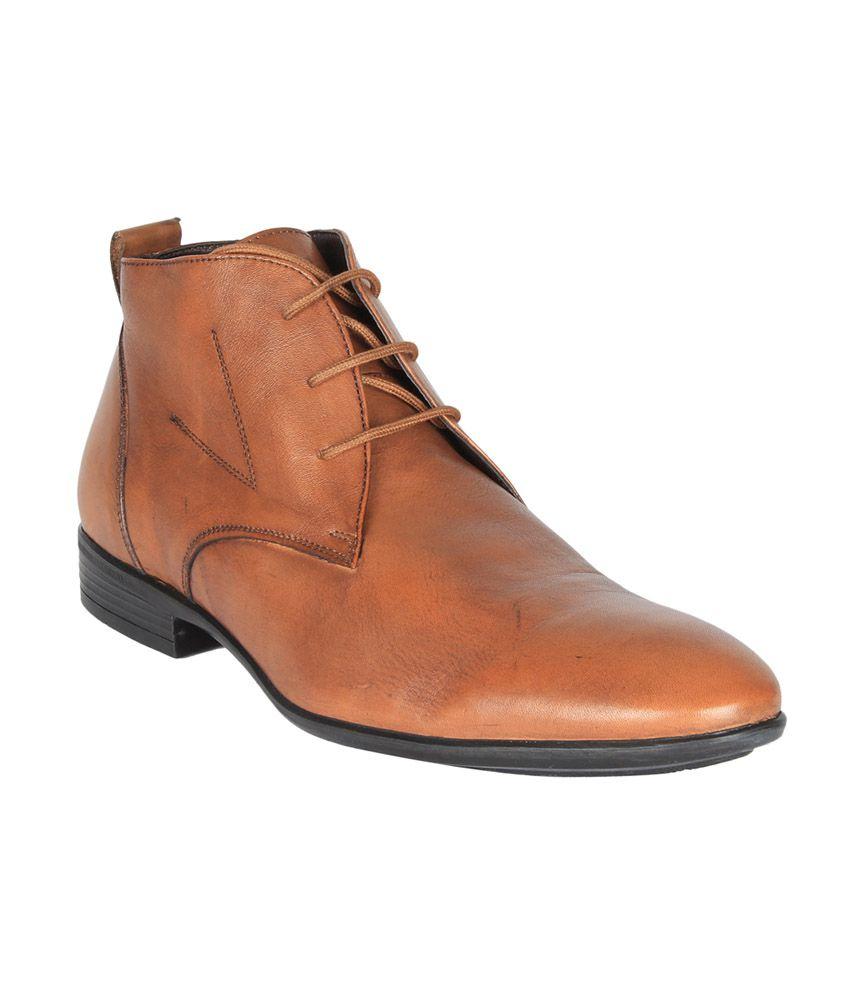 Salt 'n' Pepper Brown Boots