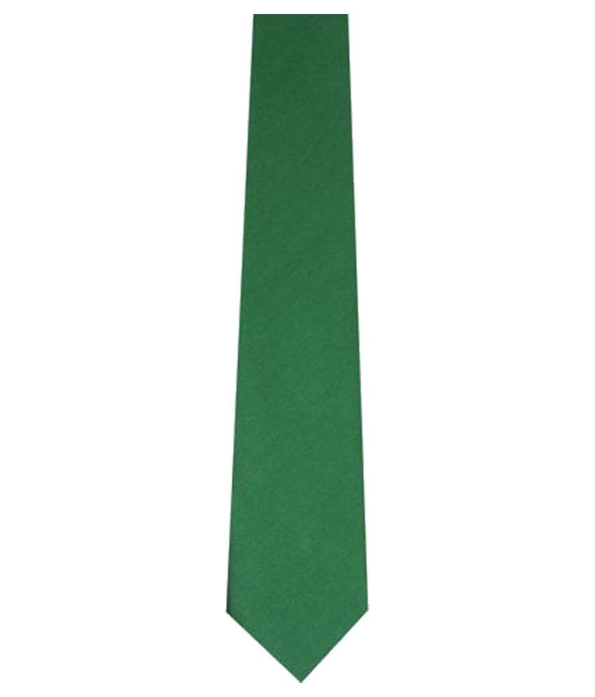 Wintex Green Plain Formal Regular Ties