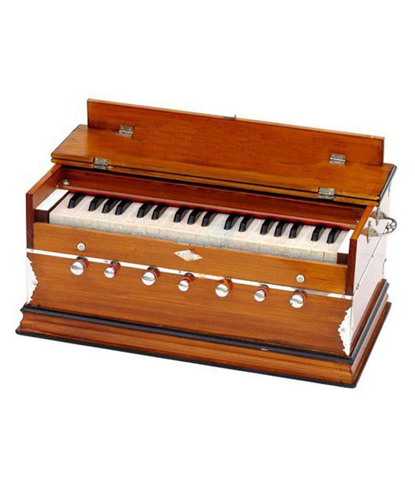 Sg Musical Harmonium 7 Stopper Natural Color: Buy Sg ...