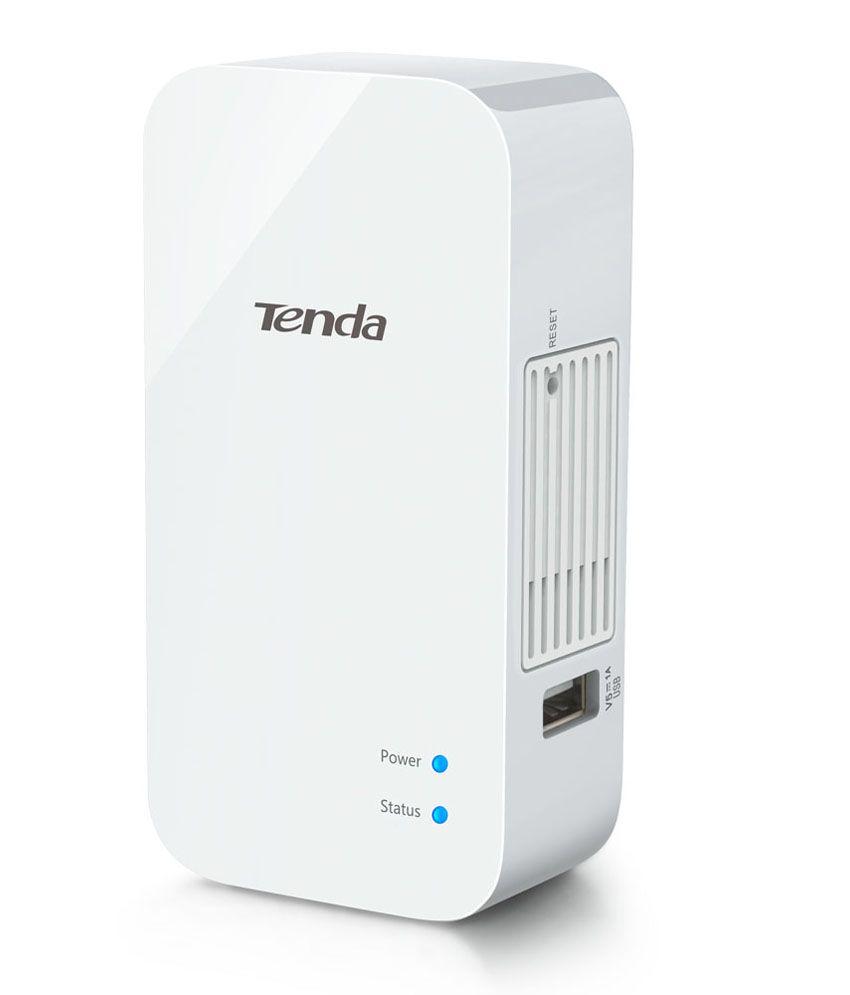 Tenda TE- A8 150Mbps Wireless Travel Portable Router, with 1 LAN, 1 interchangable LAN/WAN port, inbuilt power plug