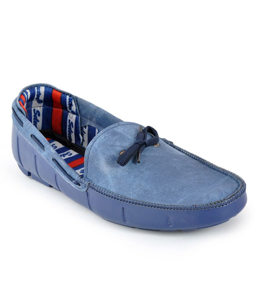 c53bd560c3e Foot n Style Blue Loafers - Buy Foot n Style Blue Loafers Online at Best  Prices in India on Snapdeal