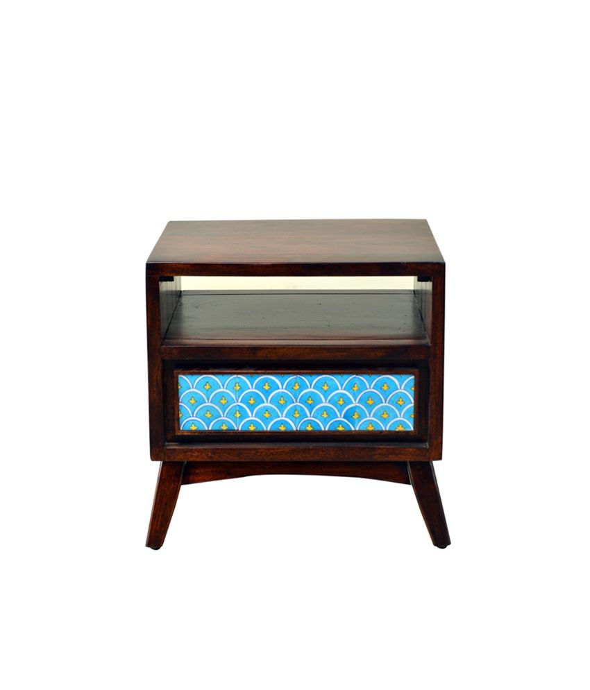 Hometown celtic solidwood night stand best price in india for Night stand cost