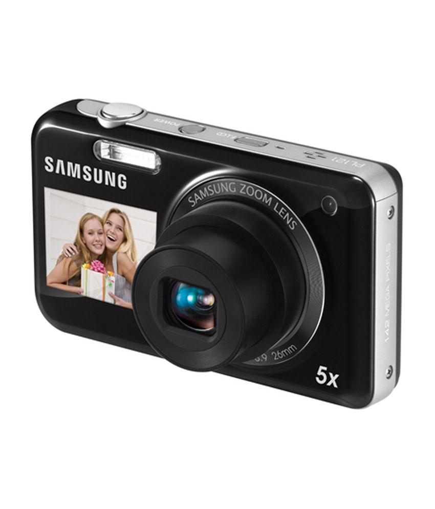 Samsung PL120 14.2 MP Point & Shoot Digital Camera - Black