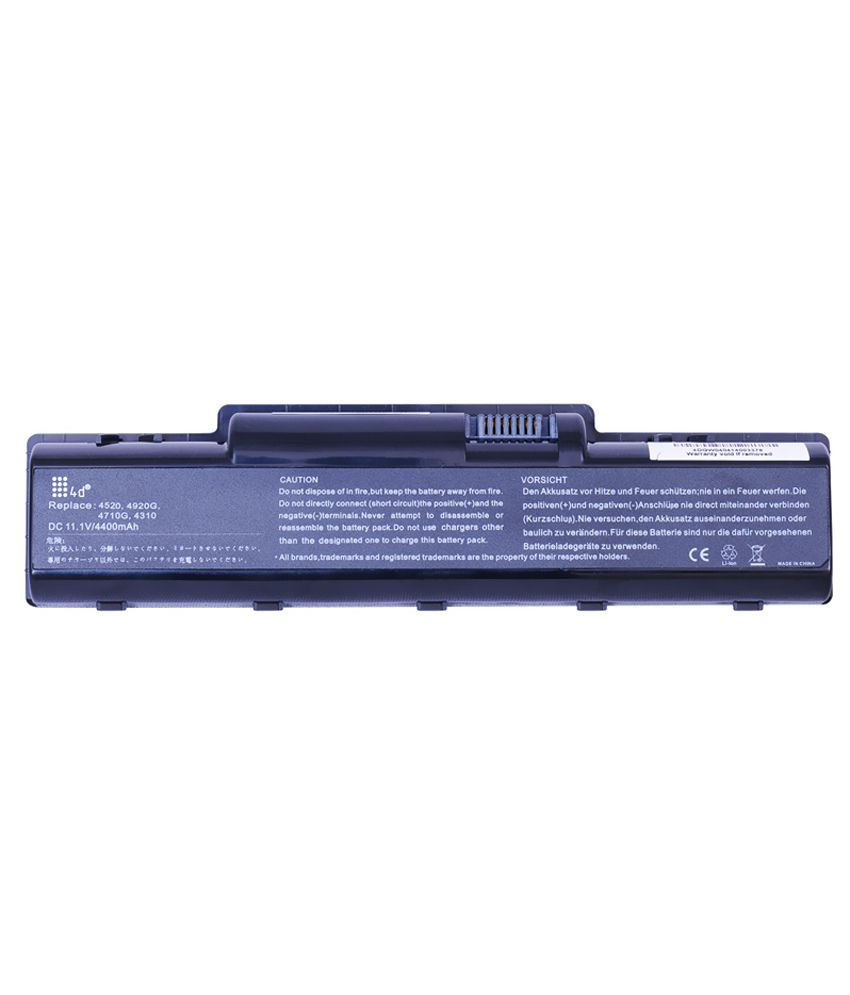 4d Acer Aspire 5536g 6 Cell Laptop Battery