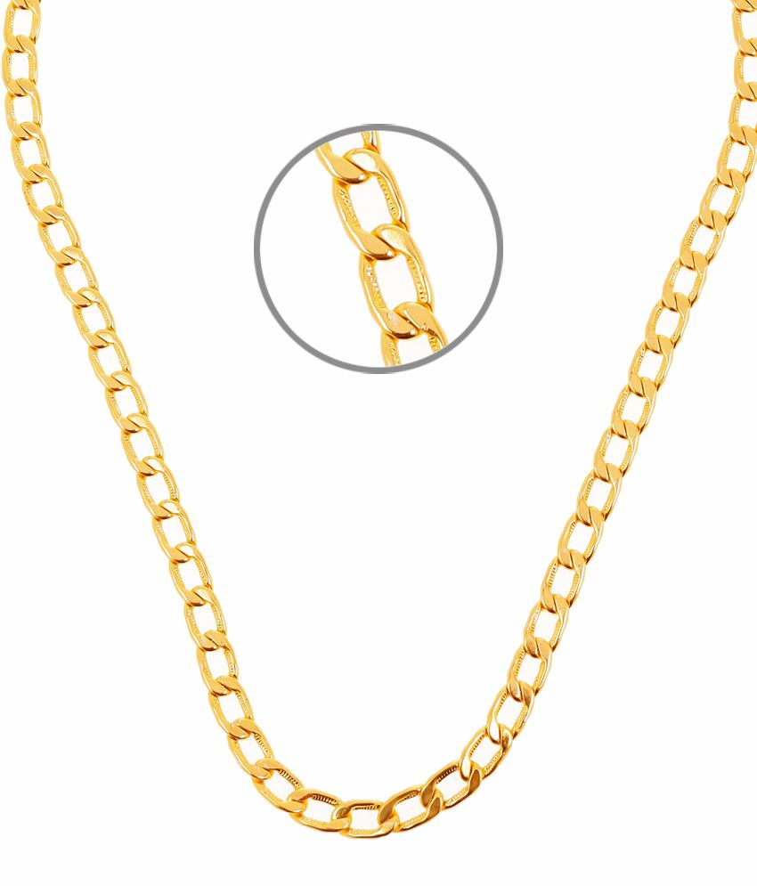 Big Looped Light Weight Men's Chain by GoldNera