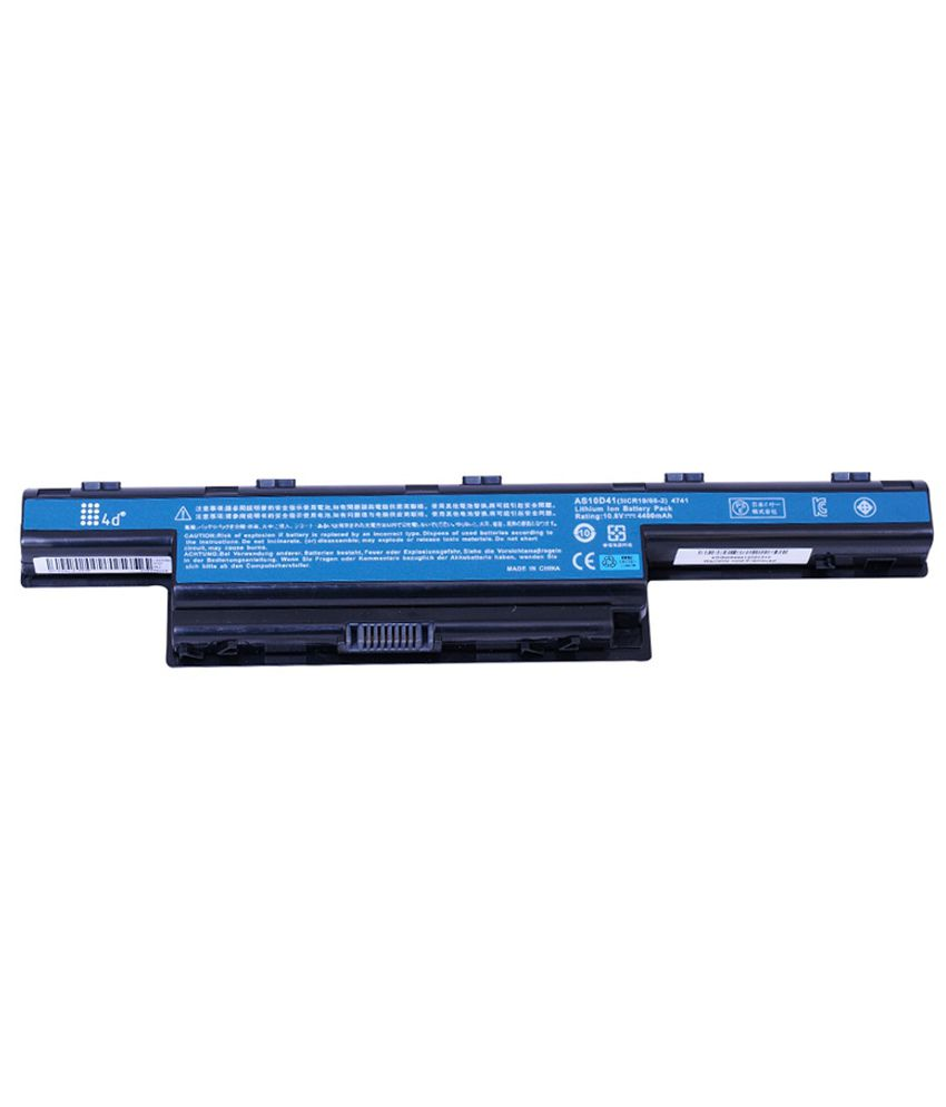 4d Acer Aspire 4740-432g50mna 6 Cell Laptop Battery