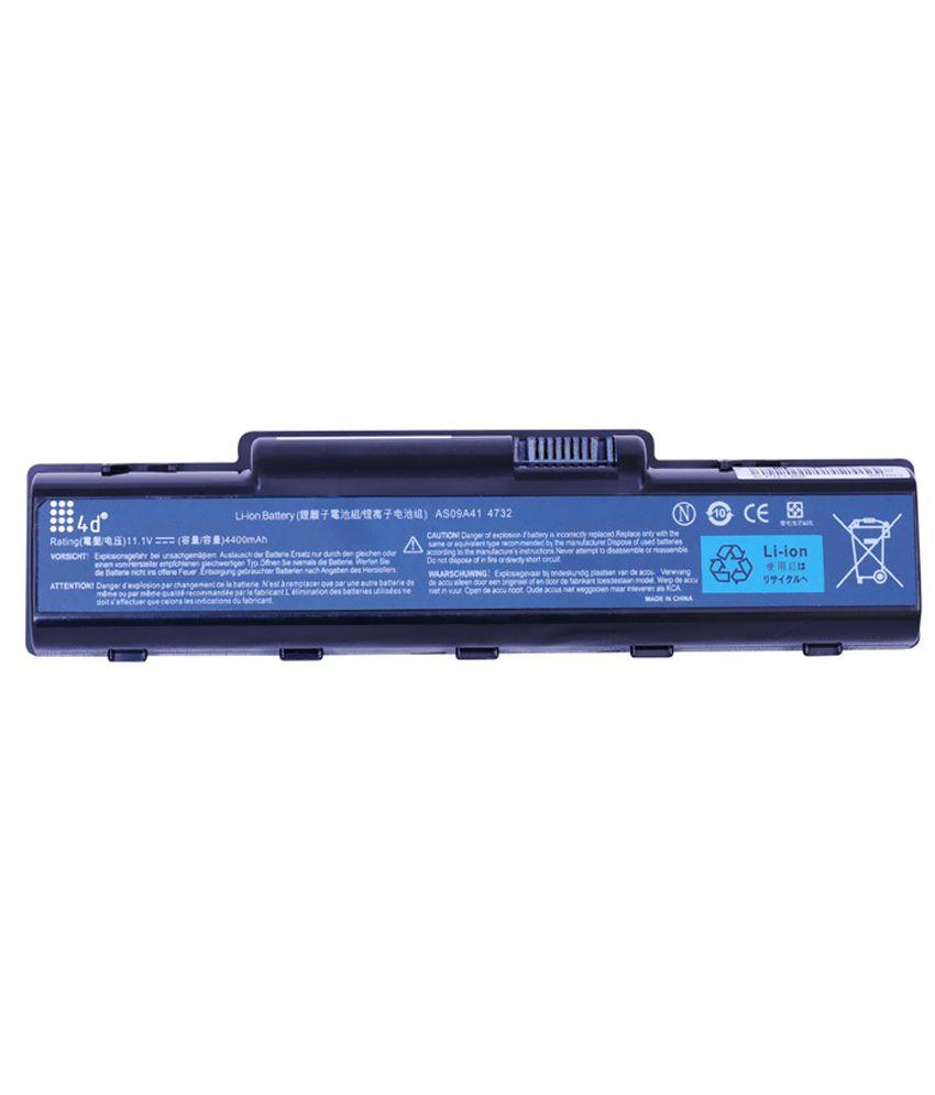 4d Acer Aspire Nv5213u 6 Cell Laptop Battery