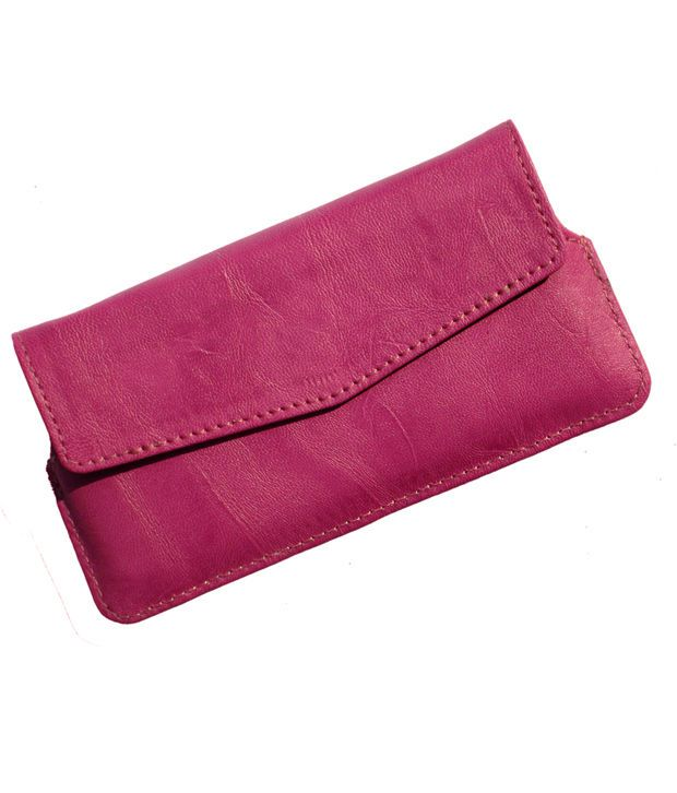 Ikitpit Pu Leather Cover Pouch For Micromax Canvas Juice A77