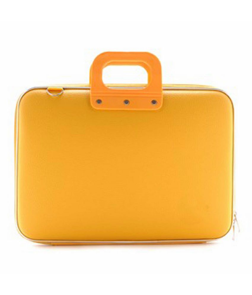 Tootpado Stylish Slim Yellow Tablet Briefcase For  Apple iPad Notebook