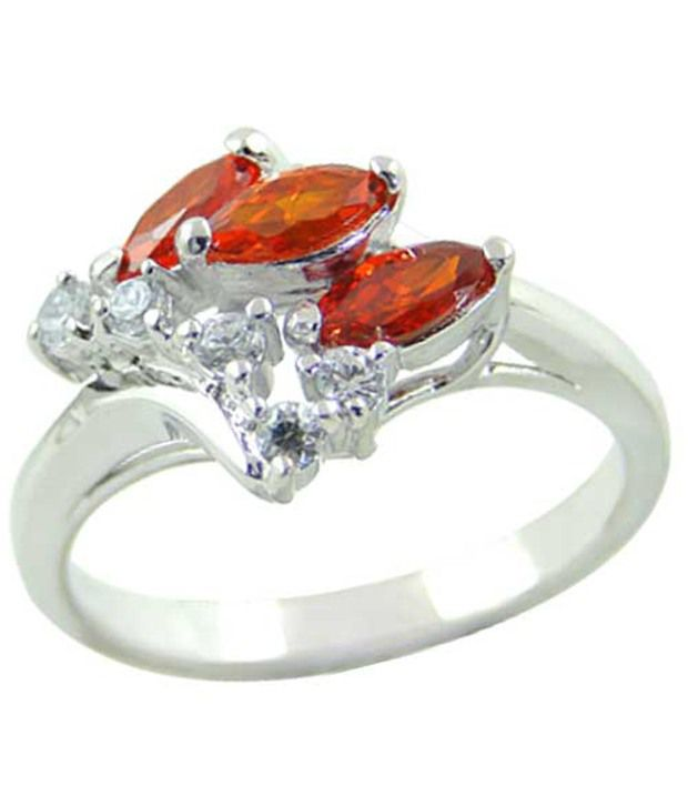 Arsh Crown Sky Dominion 925 Sterling Silver Ring With Cubic Zirconia