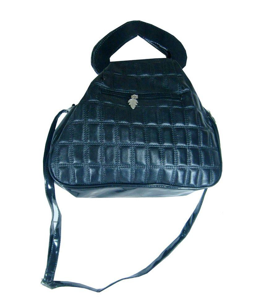 Essart Black P.u. Shoulder Bag