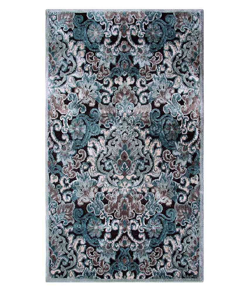 Riva Carpets Blue Traditional Rug