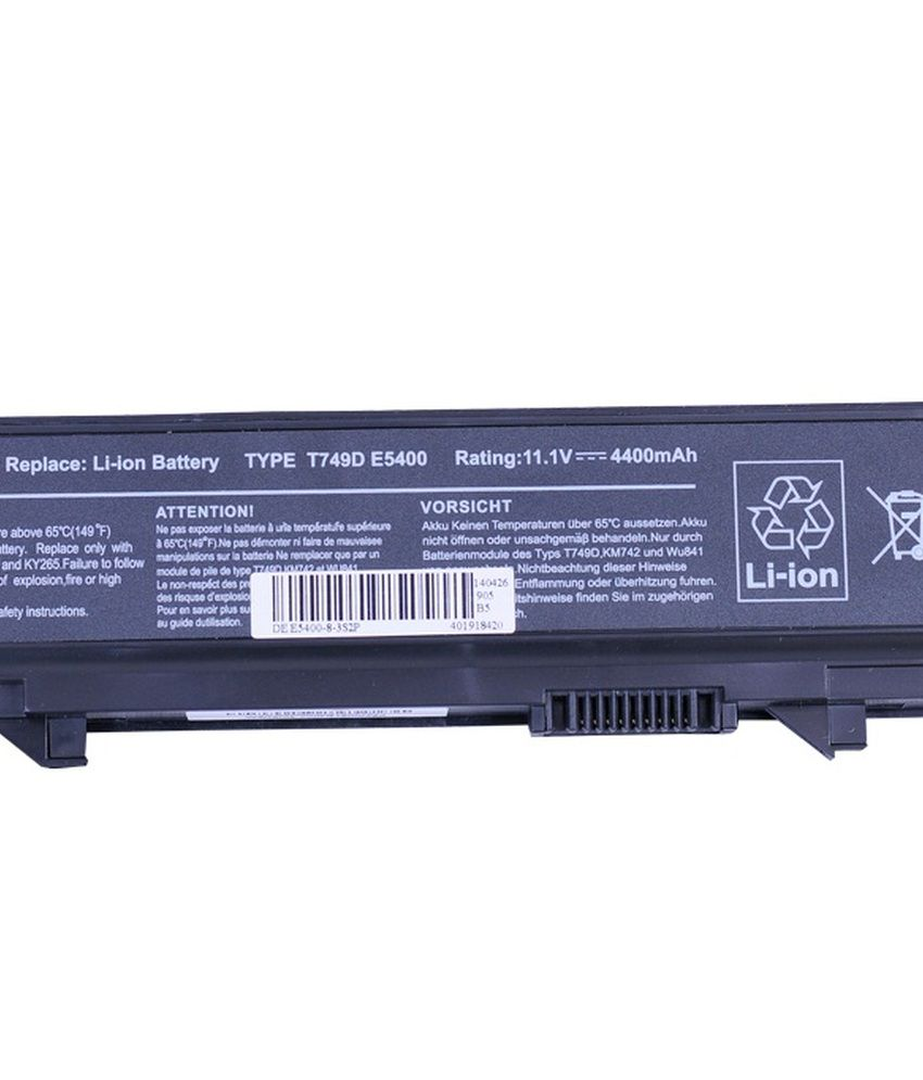 4d Dell Latitude Rm661 6 Cell Laptop Battery