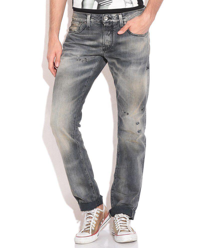 Jack & Jones Black Regular Fit Jeans