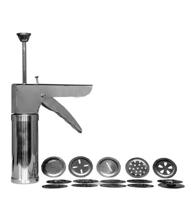 smartkshop stainless steel kitchen press murukku maker farsan
