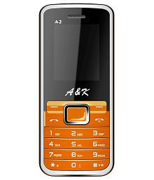 A&K A 2 Orange and Black GSM Mobile