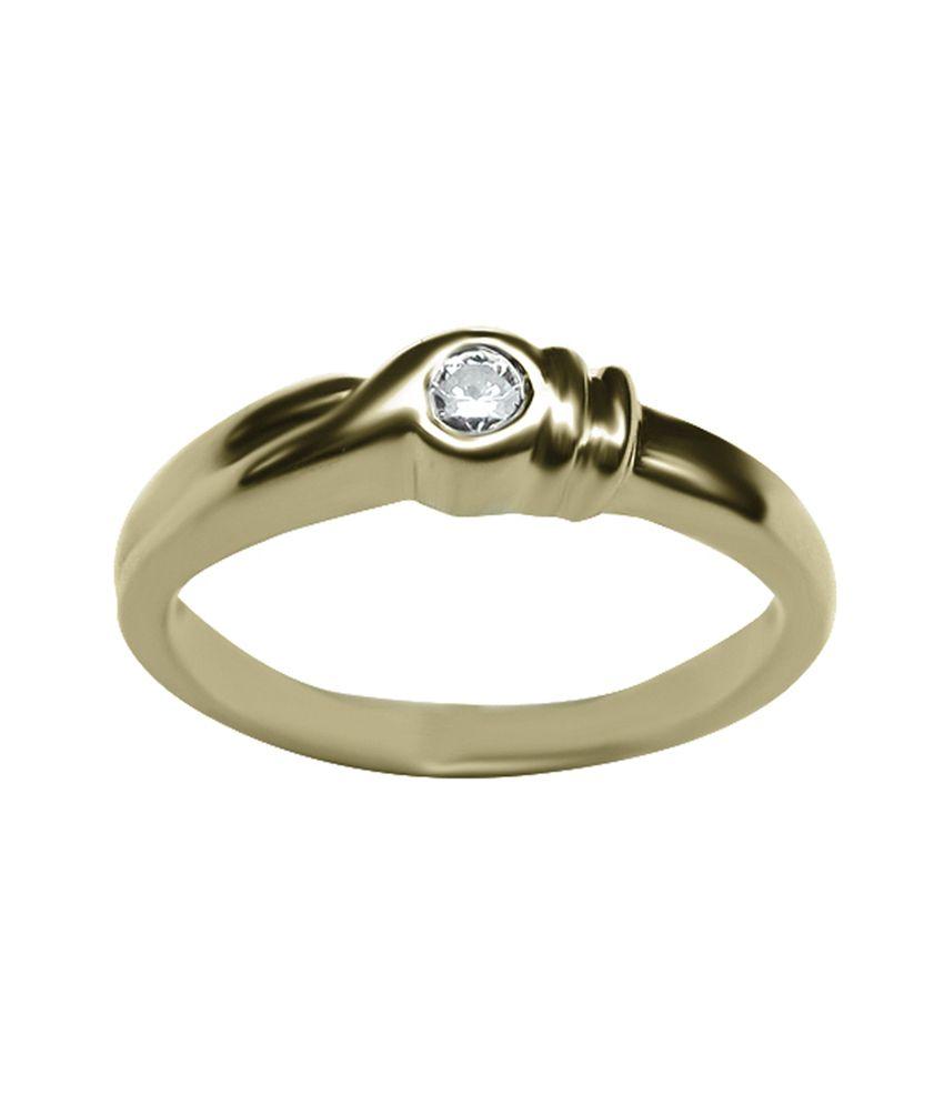 Azira Jewels Contemporary Gold 18kt Diamond Ring