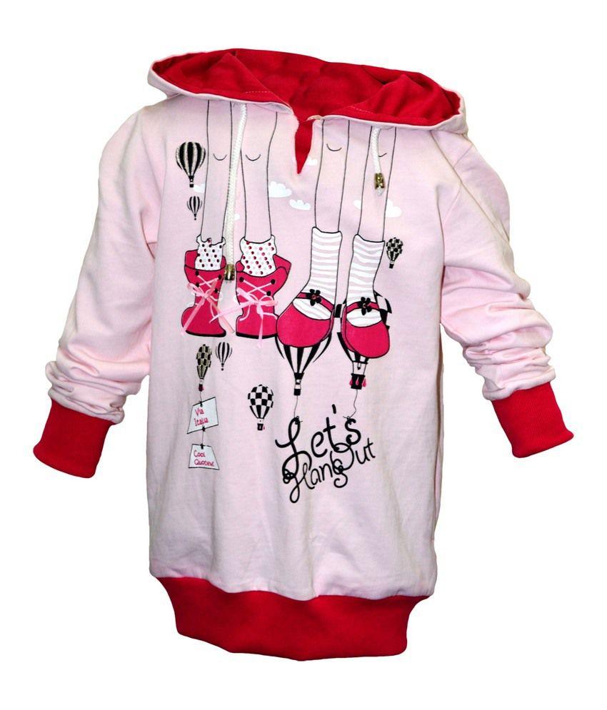 Cool Quotient Pink Sweat Shirt