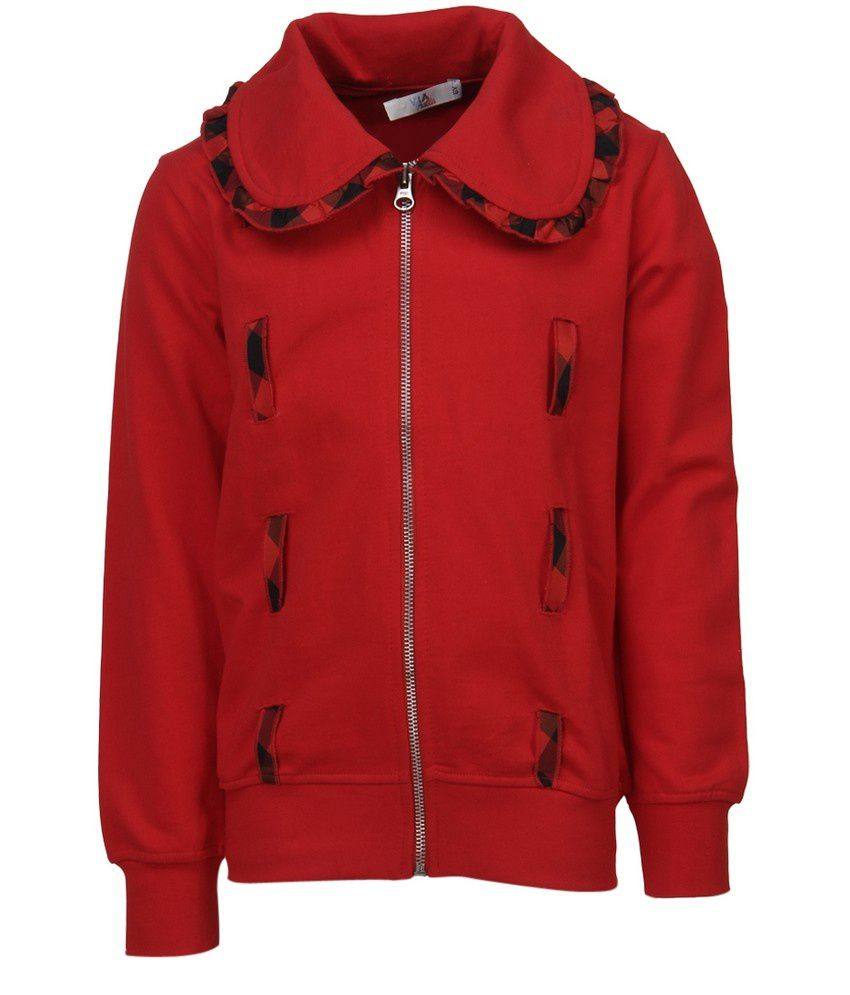 Cool Quotient Red Sweat Shirt