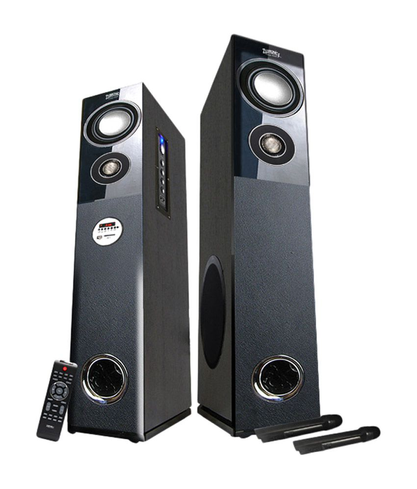 Zebronics Zeb-bt7500rucf Floorstanding Speakers - Black