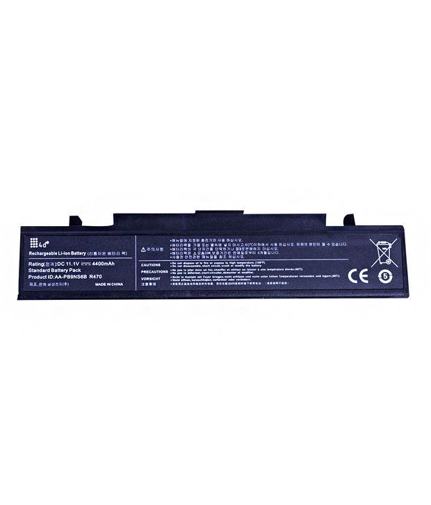 4d Samsung R730 6 Cell Laptop Battery
