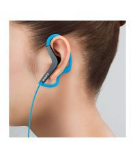 Sony MDR-AS200 Sports In-Ear Headphones Without Mic (Blue)