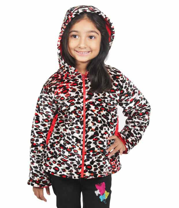 Little Dove Red Color Jacket For Kids