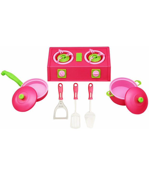 Ollington St. Collection Ollington St. Collection Kitchen Set Pink
