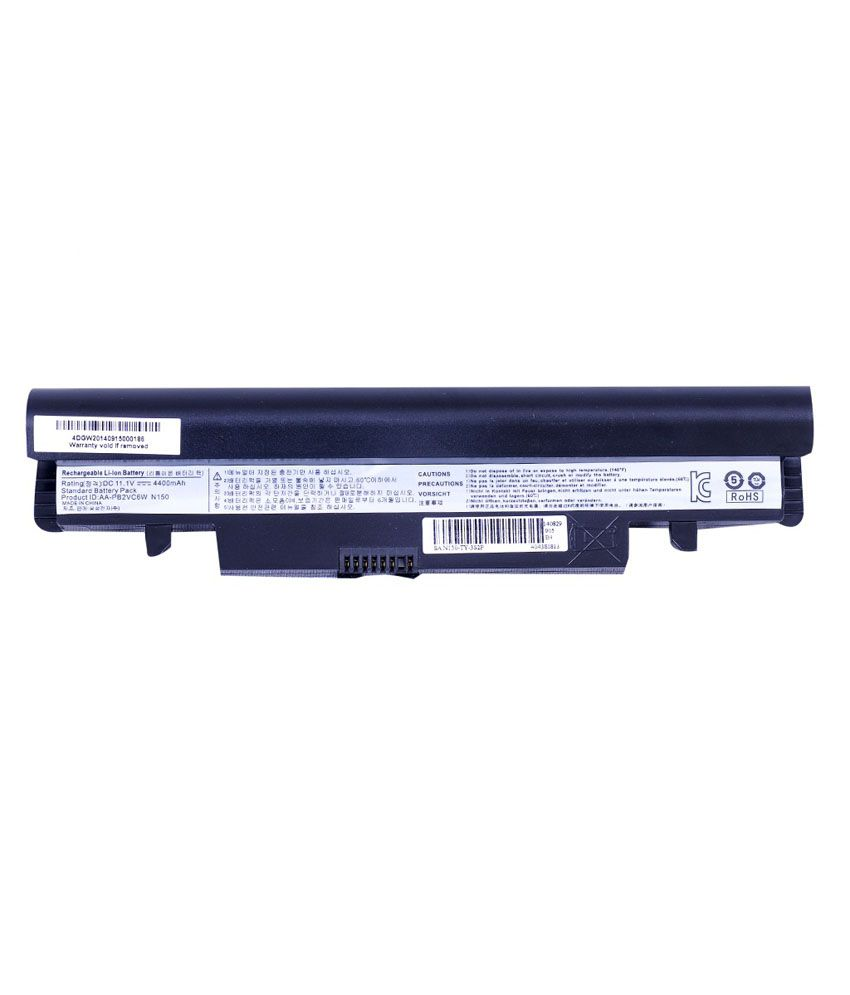 4d Samsung Np-n145p 6 Cell Laptop Battery