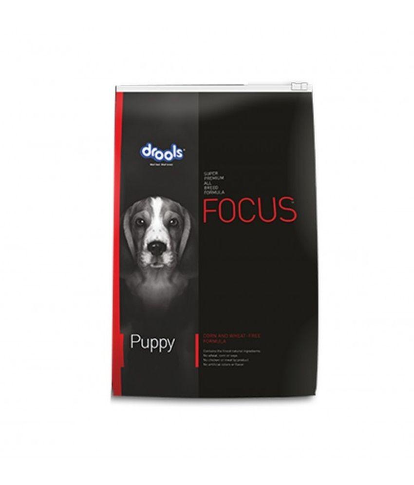 Drools Focus Super Premium Real Chicken Puppy Dog Food - 12 Kg