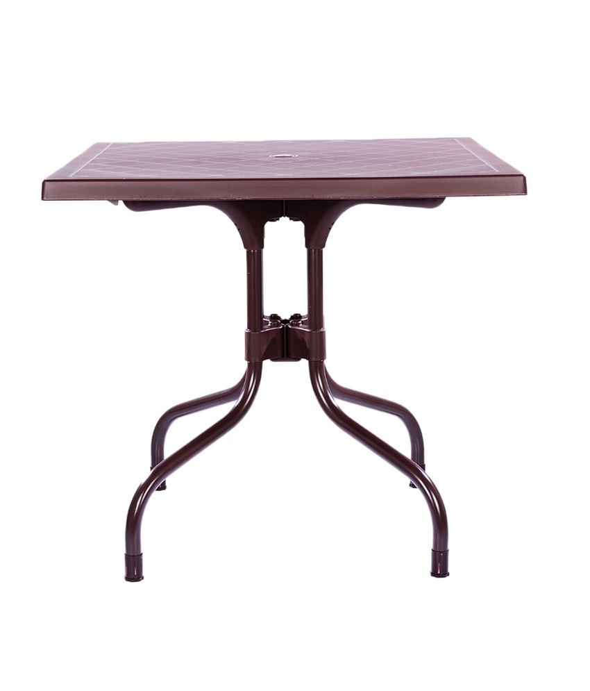 Supreme Olive Foldable Dining Table Globus Brown Buy