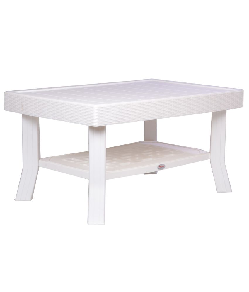 ... Supreme Vegas Center/Coffee Table  Milky White