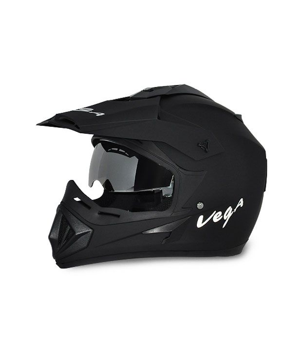 Vega Off Road - Full Face Helmet Dull Black L