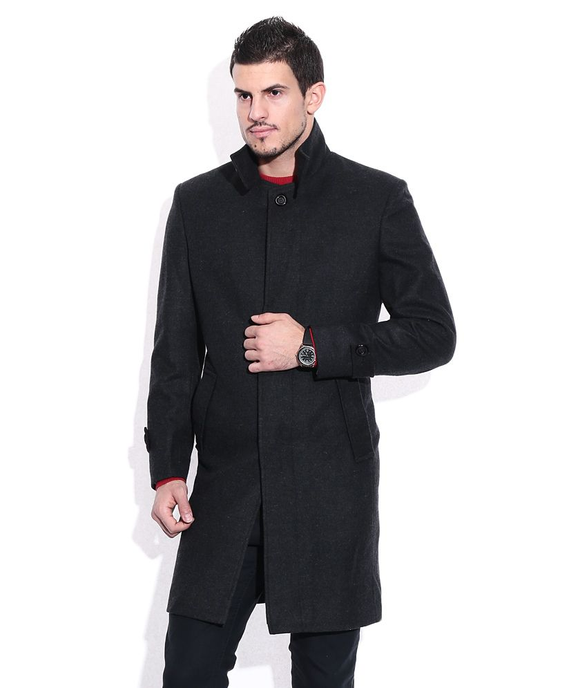 268aa93a455 Monte Carlo Black Semi-Formal Full Sleeve Blazer - Buy Monte Carlo Black  Semi-Formal Full Sleeve Blazer Online at Best Prices in India on Snapdeal