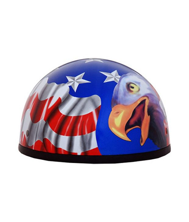 89c2317b7d3 Daytona - Skull Cap with Graphic Motorsports Helmet- American Flag  Buy  Daytona - Skull Cap with Graphic Motorsports Helmet- American Flag Online  at Low ...