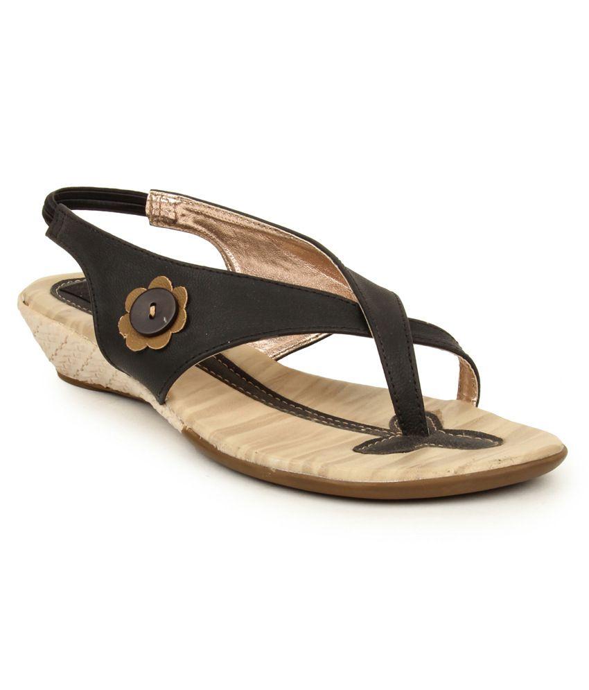 Anaya Black Sandal